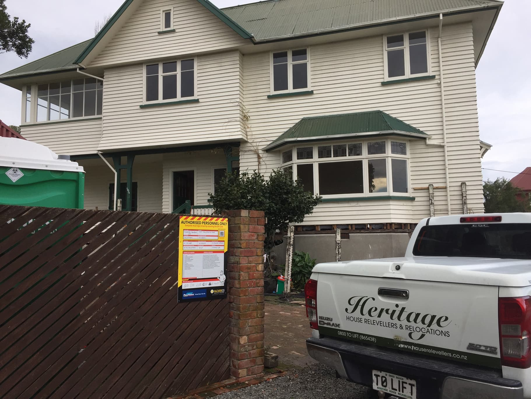 Heritage House Relevellers' foundation replacement service in Christchurch