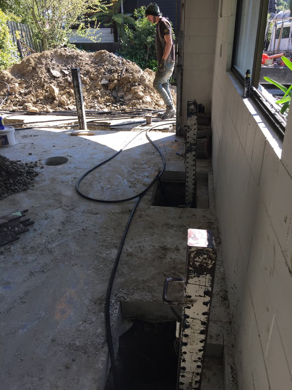 Canterbury slab lifting service from Heritage House Relevellers
