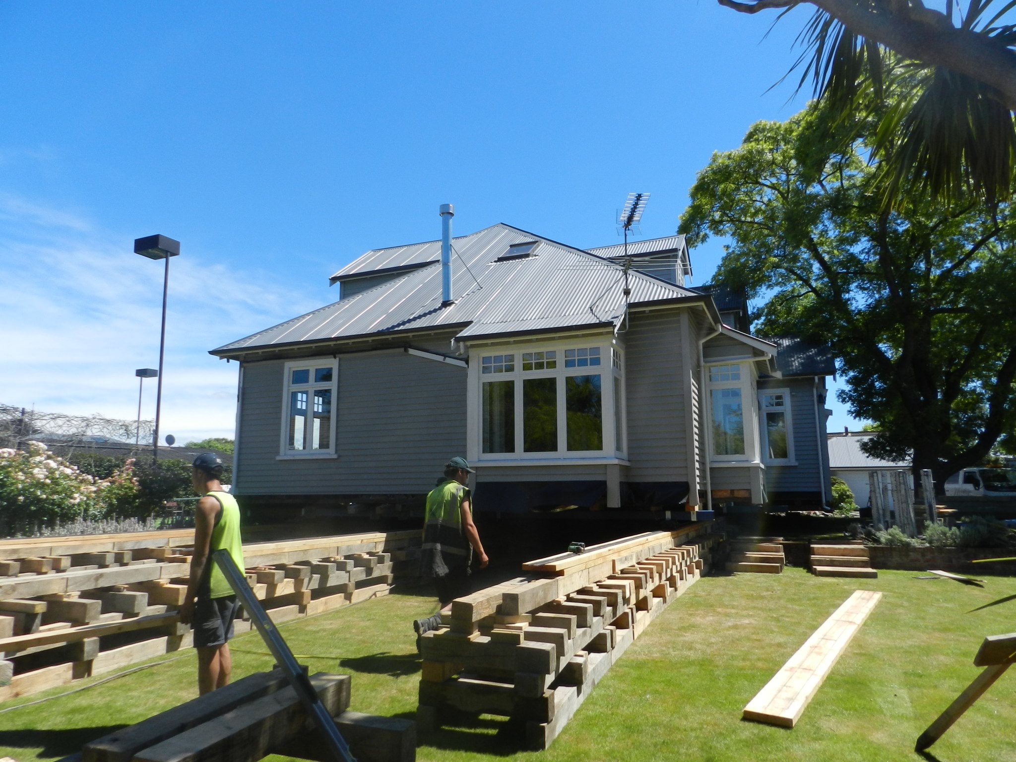House rolling service offered by Heritage House Relevellers in Canterbury